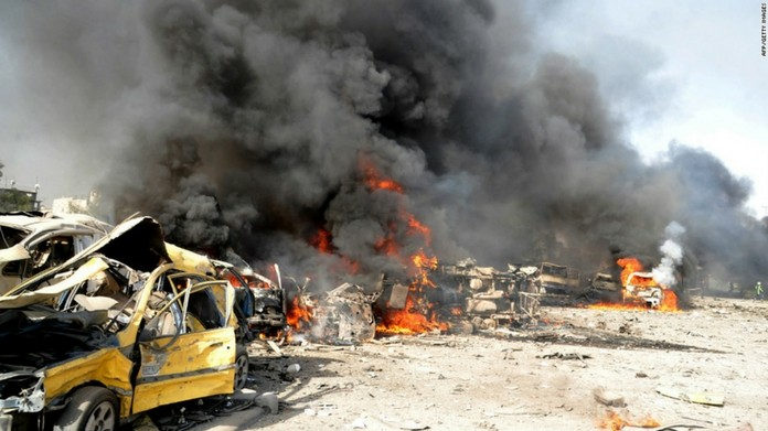 suicide bomb attack at syria killed 40