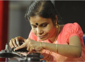 vaikom vijayalakshmi to set world record
