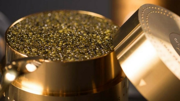 worlds most expensive food albino white gold caviar