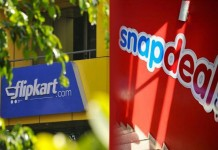 snapdeal and flipkart merges