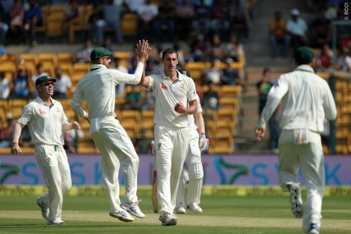 bangalure cricket test
