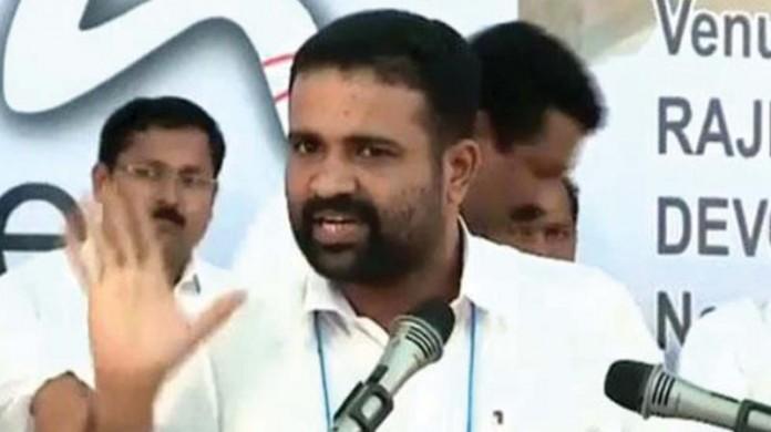 cr mahesh quits congress