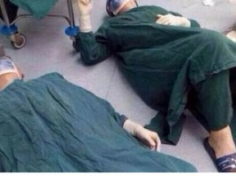 doctors in china collapse after surgery