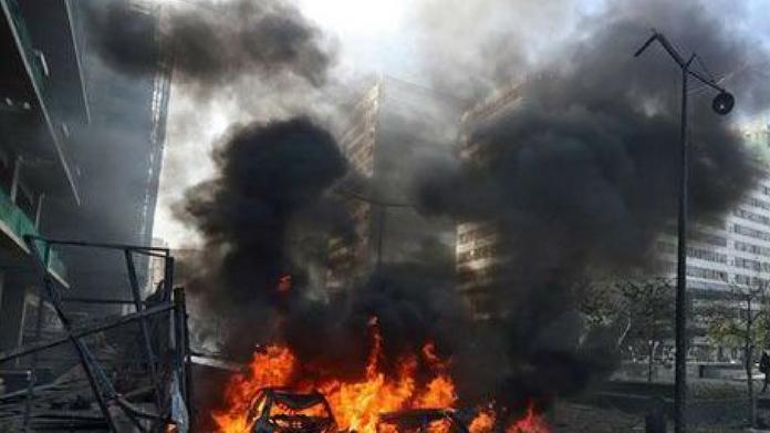 double bomb blast at agra