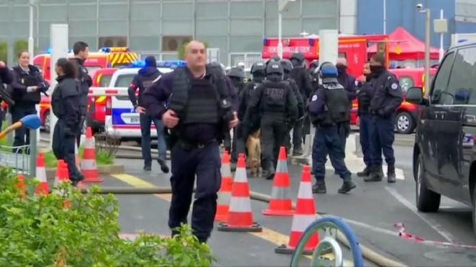 firing at paris airport