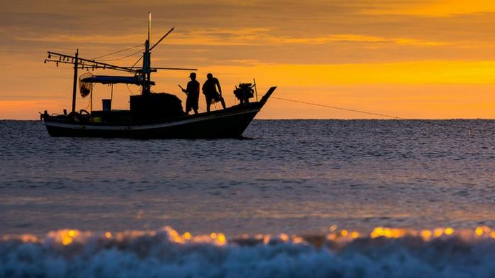 fishermen under the custody of Sri Lankan navy