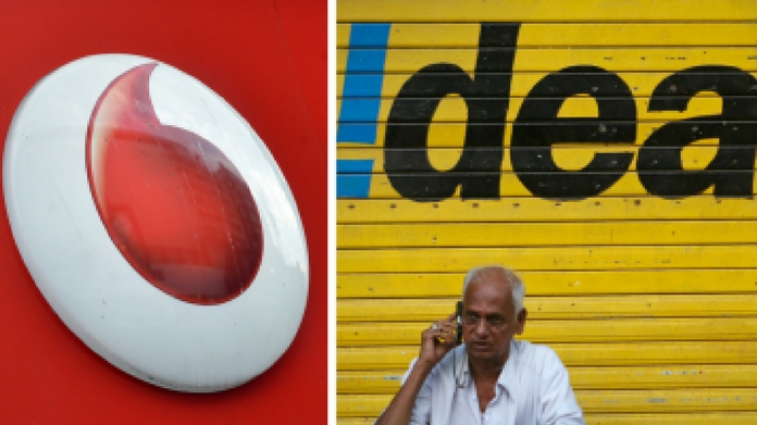 idea and vodafone merges