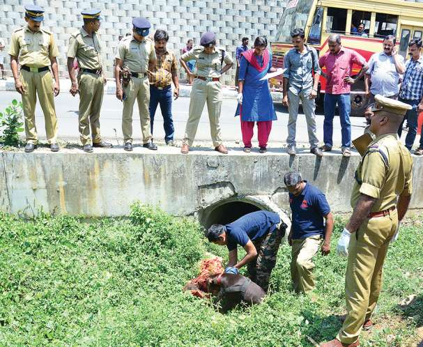 woman corpse found near national highway