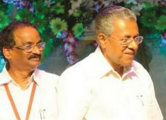 pinarayi and a k balan
