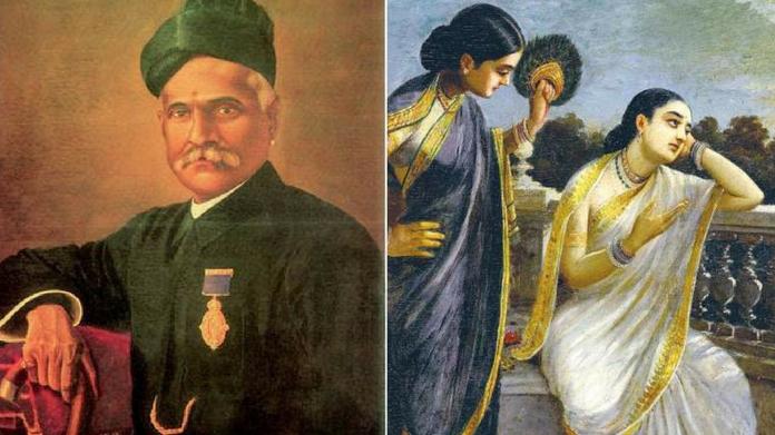 ravivarma painting damayanti gets 11.09 crore in bid