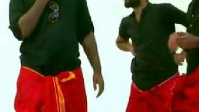 red dhothi