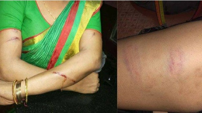 transgenders attacked by police at thrissur