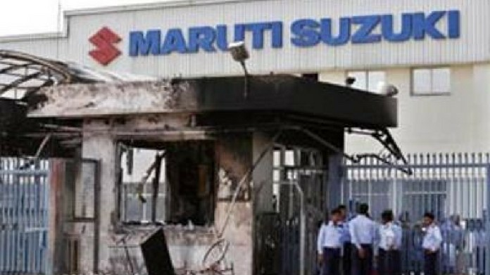 tumult at maruti plant court found 31 guilty