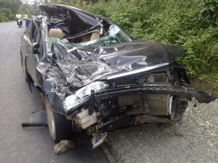 car accident at ochira