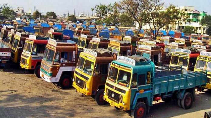 lorry strike