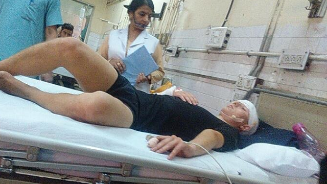 german citizen attacked at delhi