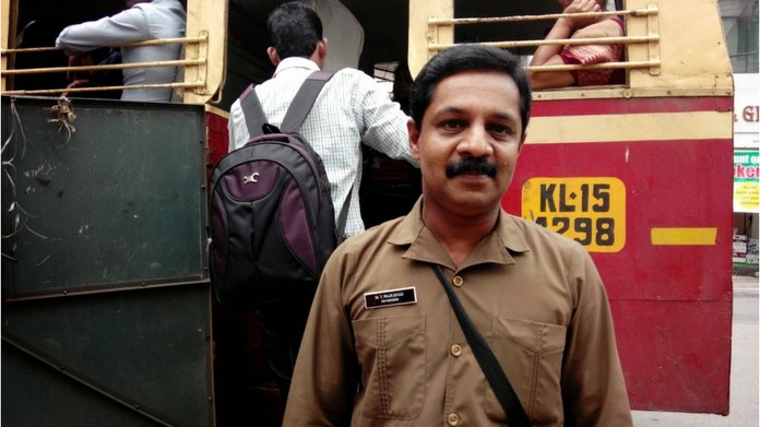 Ernakulam bus conductors should pin their name on their uniform