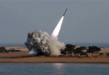 north korea experiments missile