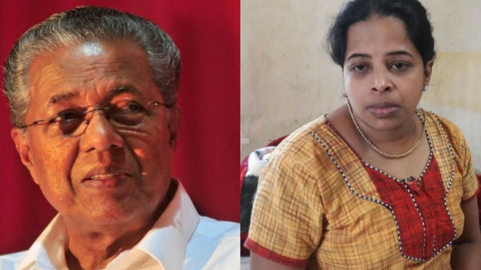 Won't see mahija says pinarayi