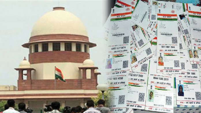 aadhaar aadhar case hearing continues today