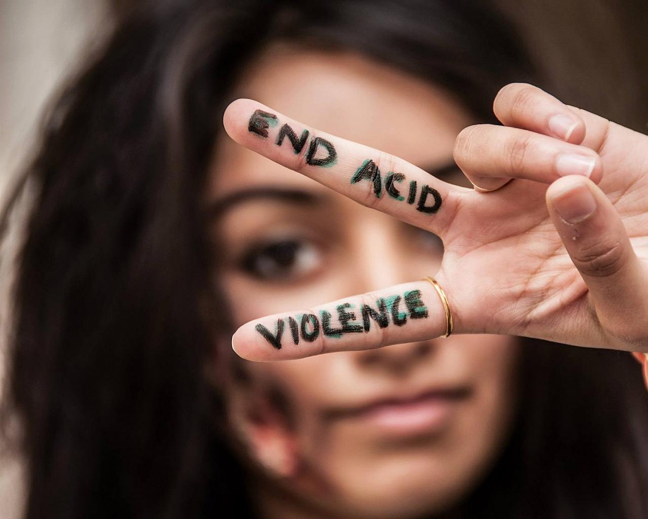 acid violence