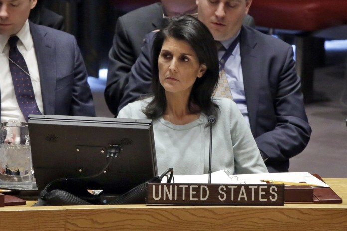 will continue attack at syria says nikki haley