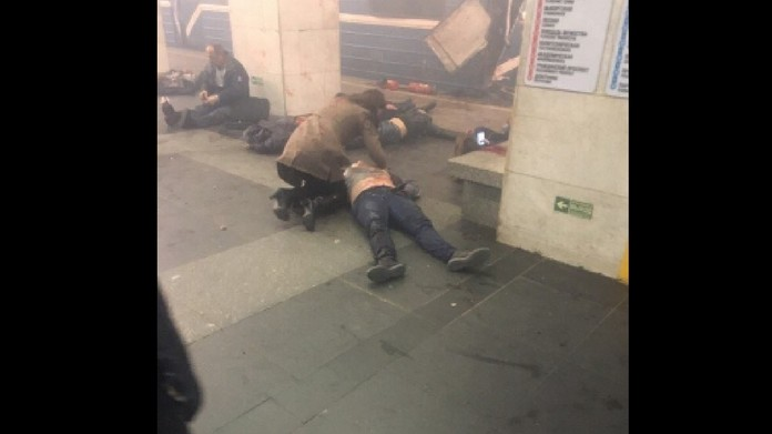 blast in metro