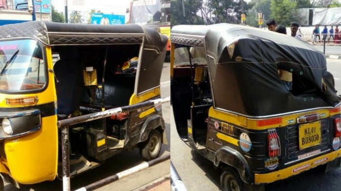 bus autorikshaw accident at thambanur