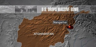reports says that 13 isis terrorists were killed in us bombings at nangahar