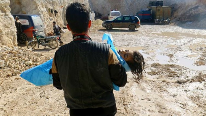 chemical attack in syria