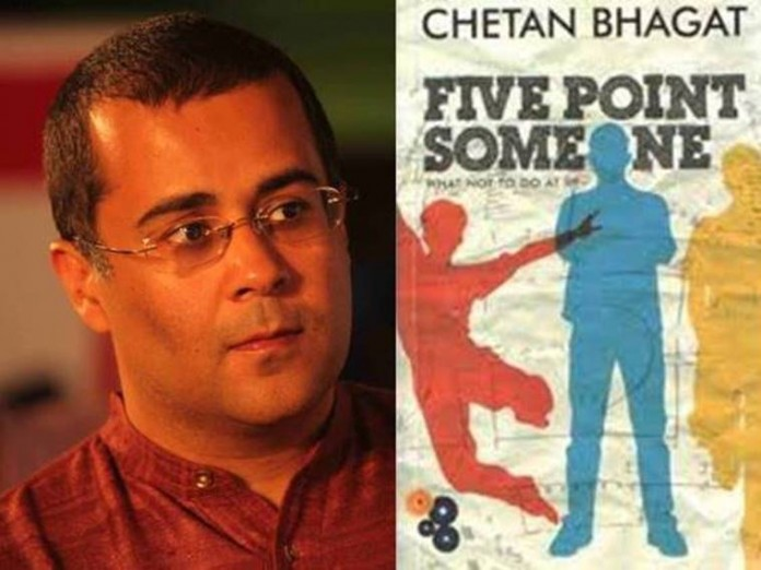 chetan bhagat five point someone included in du syllabus