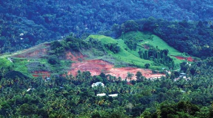 land encroachment