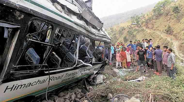 bus accident at himachal pradesh