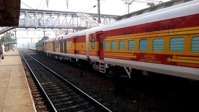 train derailed at ernakulam