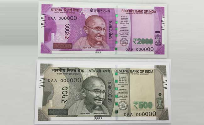 safety marks in notes to be changed regularly to prevent fake notes rupee value lowest rate