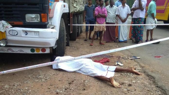 lorry drivers murder pathanapuram