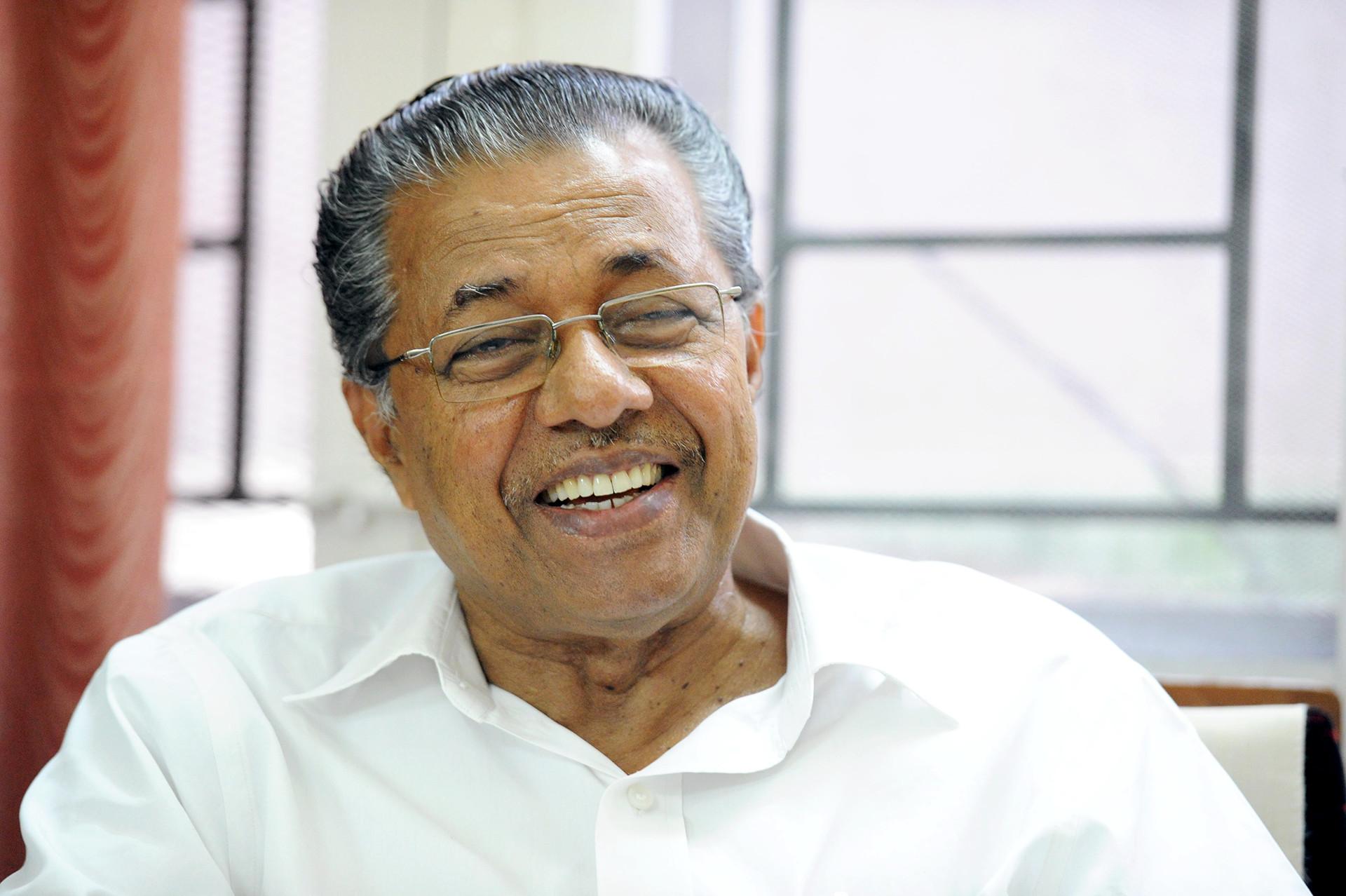 pinarayi vijayan chief minister pinarayi vijayan to ndtv