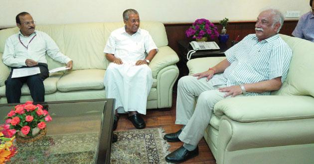 pinarayi vijayan welcomes centre's decision on kannur airport