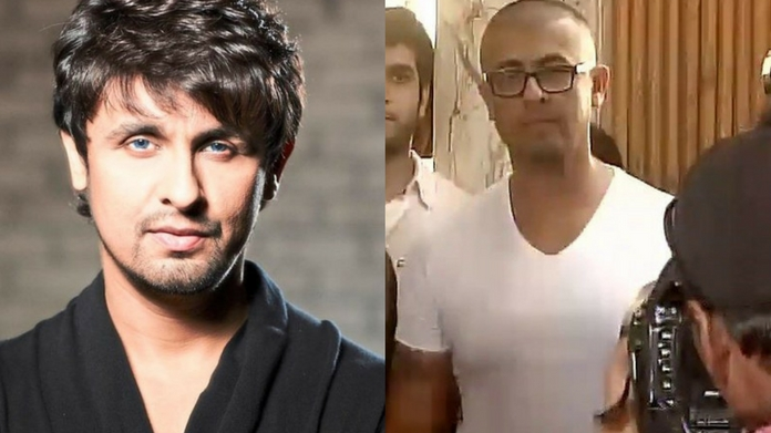 sonu nigam shaves off his head asks maulavi to keep 10 lakhs ready