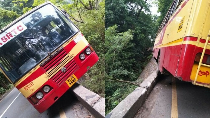 thamarassery bus accident
