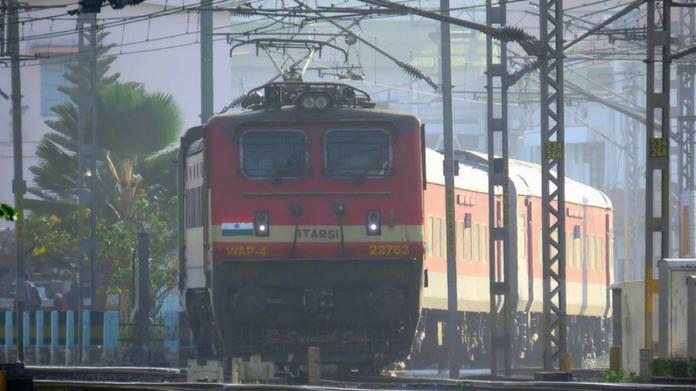 train train going through ernakulam delayed