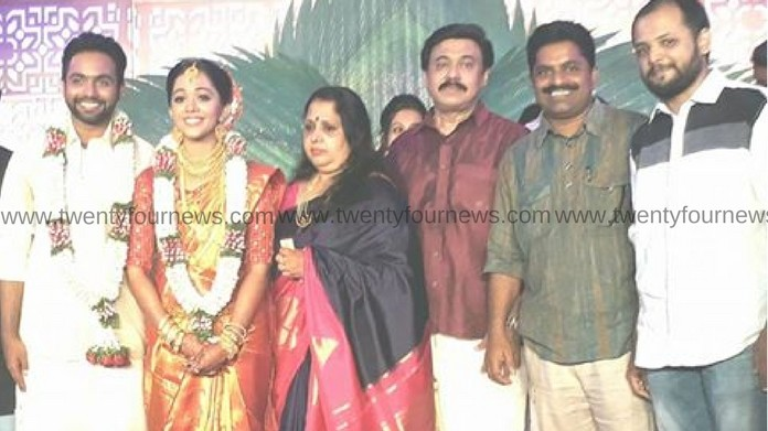 vinayan daughter got married