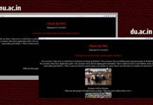 pakistan hacked indian websites