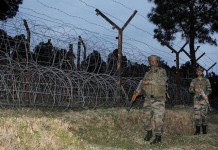 kashmir terrorist attack 4 killed pak attack loc india fights back