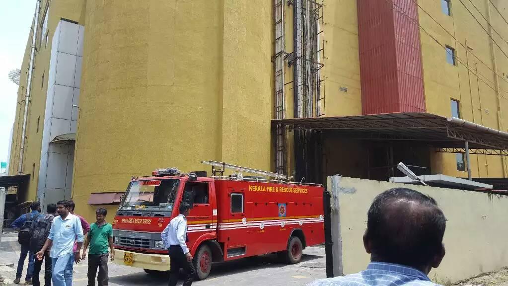 oberon mall fire