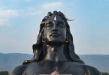 adi yogi statue