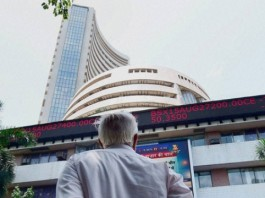 sensex stock-market-begins-gain