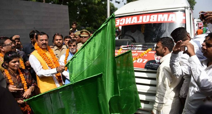 cow ambulance uttar pradesh