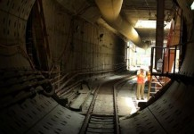 indias first underwater tunnel construction completed