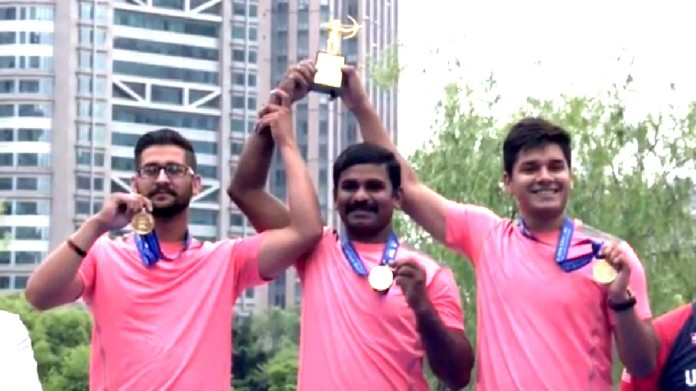 archery world cup india bags gold